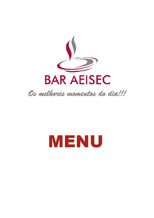 Menu Bar AEISEC