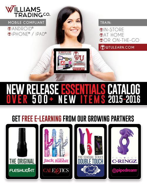 Williams Trading New Release Essentials 2015 - 2016 Catalog