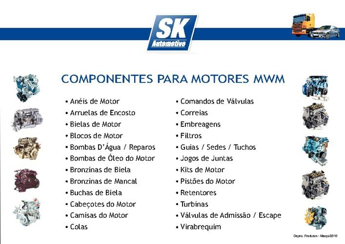 Componentes para Motores MWM