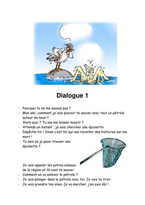 Dialogues entre 2 oiseaux