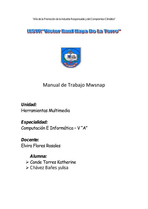 manual de wmsanap