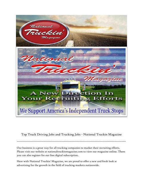 Trucking Companies Online