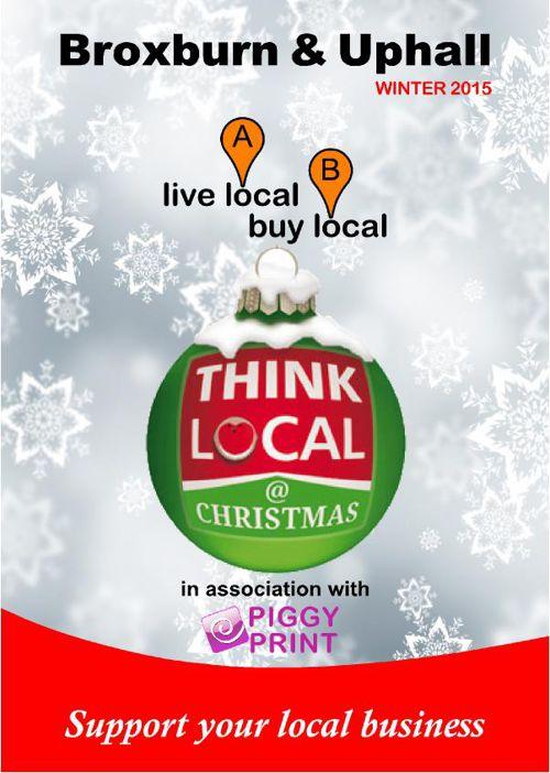 Broxburn Live Local Buy Local Winter 2015