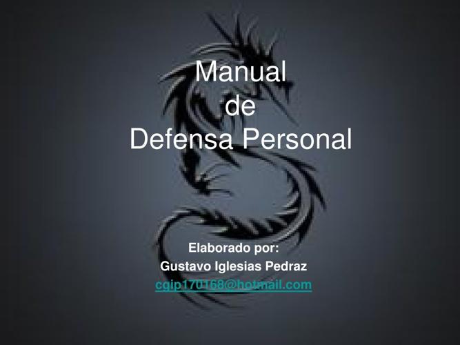 Manual de Defensa Personal
