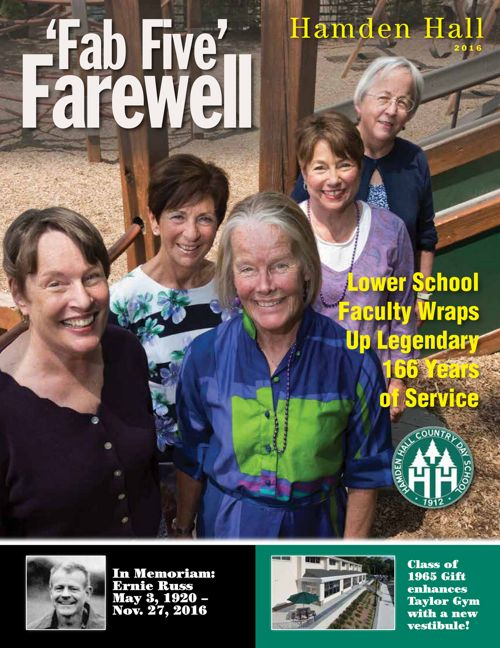 Hamden Hall 2016 Magazine