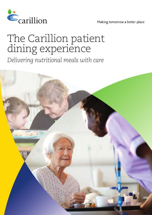 The Carillion patient dining experience