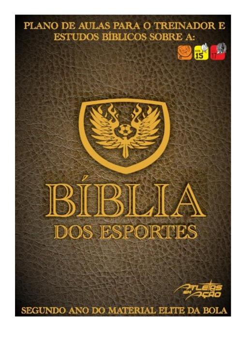 Bíblia dos Esportes Sub-15/17