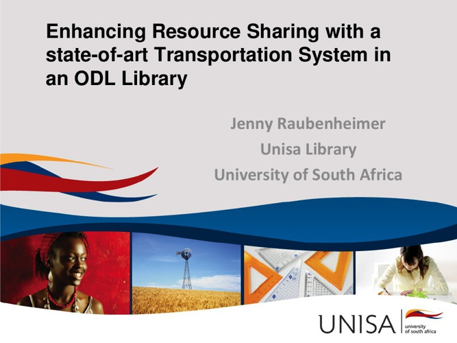 Enhancing Resource Sharing  in an ODL Library
