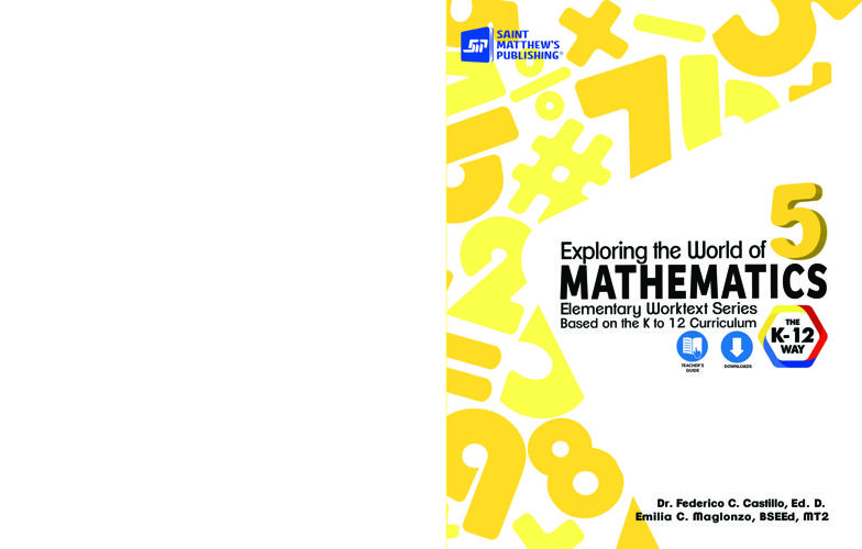 Exploring the World of Mathematics 5