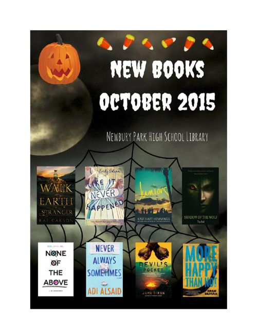 New Books October 2015