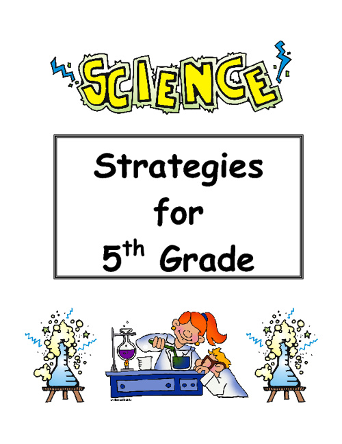 5th Grade Science Strategies