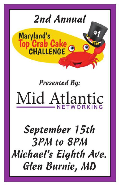 2nd Annual Crab Cake Challenge Event Program