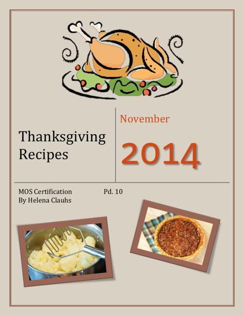 Thanksgiving Recipes 4