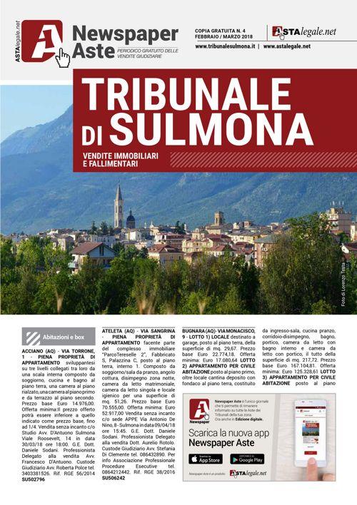 Sulmona febbraio marzo 2018