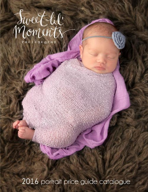 2016 Price Guide Sweet Lil' Moments Photography
