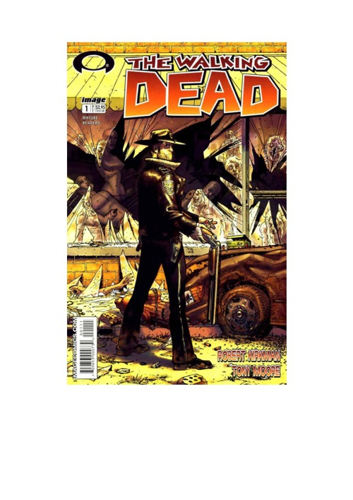 the walking death nº1 portugues