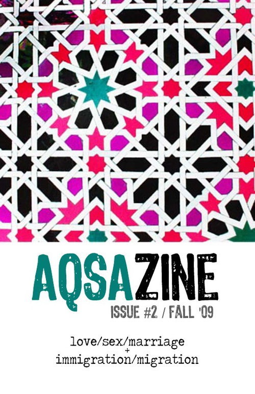 AQSAzine Issue 2 (dbl feature): Love/Sex/Marriage + Immigration
