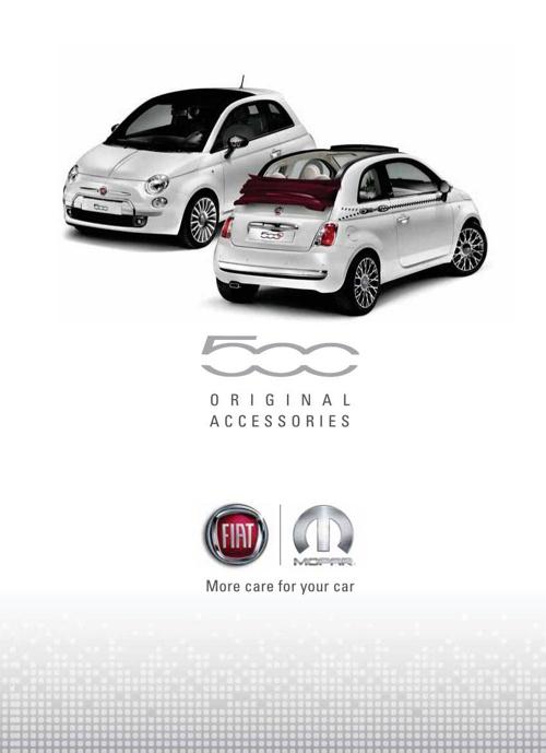 Fiat 500 Accessory Brochure