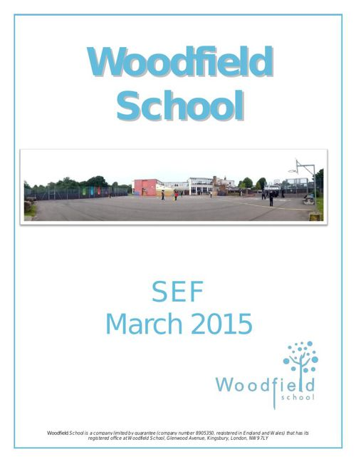 Woodfield SEF March 2015