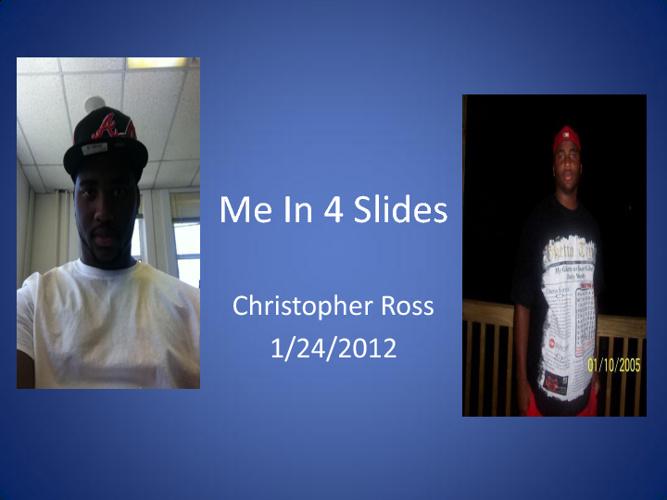 Me In 4 Slides