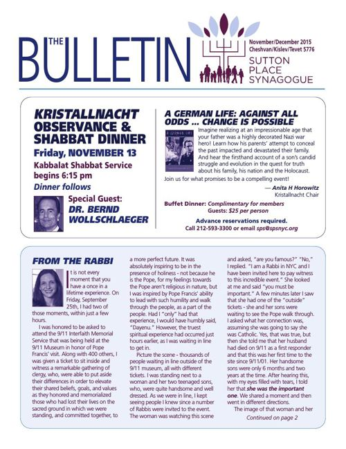NOV - DEC Bulletin