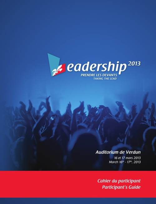 Cahier du participant / Participant's guide