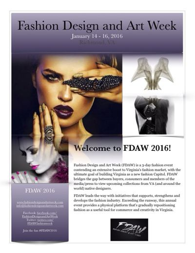 FDAW Fashion Week - Press Kit 2016