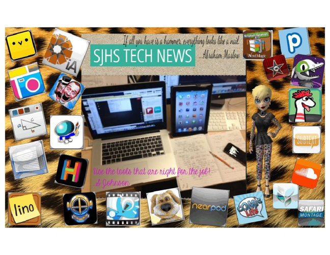 SJHS Tech News Volume 1