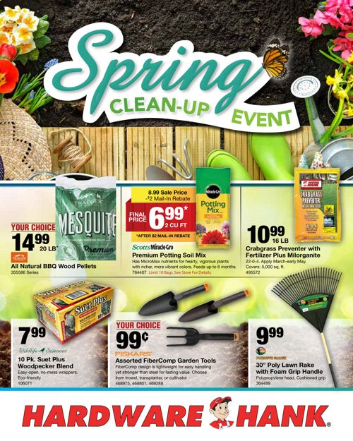 Shelby Paint and Hardware - March Flyer
