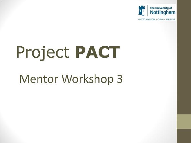 PACT Training 3