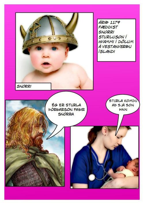 Snorrasaga 6. SH