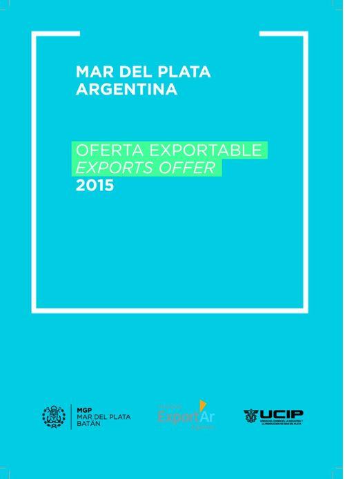 Oferta Exportable - Mar del Plata 2015
