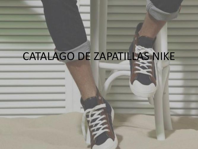 CATALAGO DE ZAPATILLAS NIKE