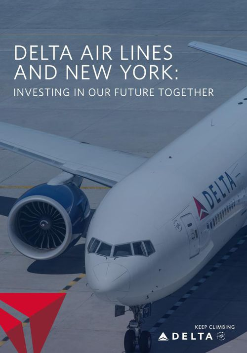 Delta Air Lines and New York - B2B