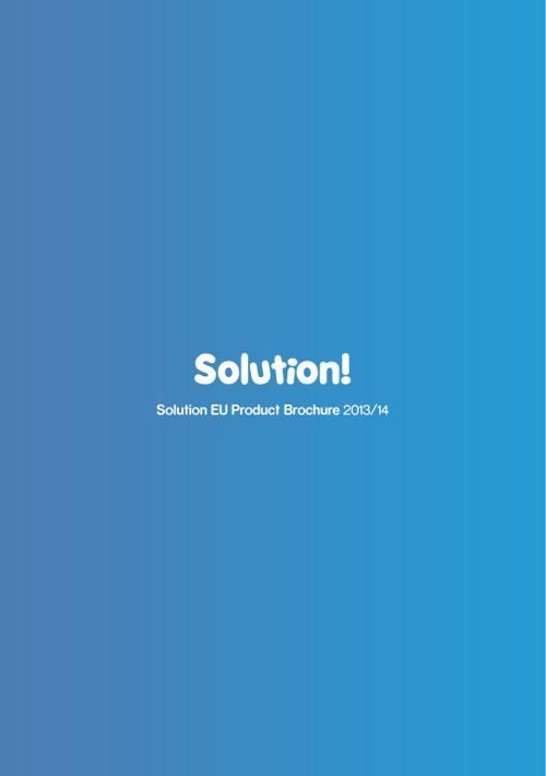 Solution Brochure 2013/14