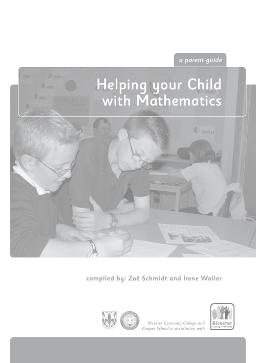 Helping Your Child with Mathematics