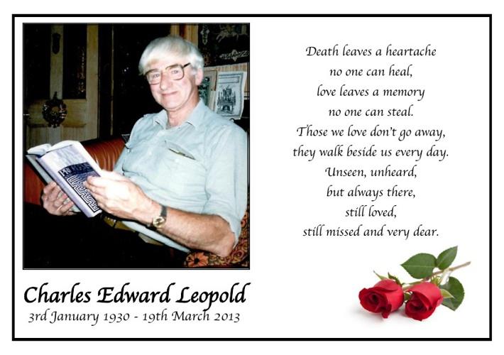 Charles Edward Leopold