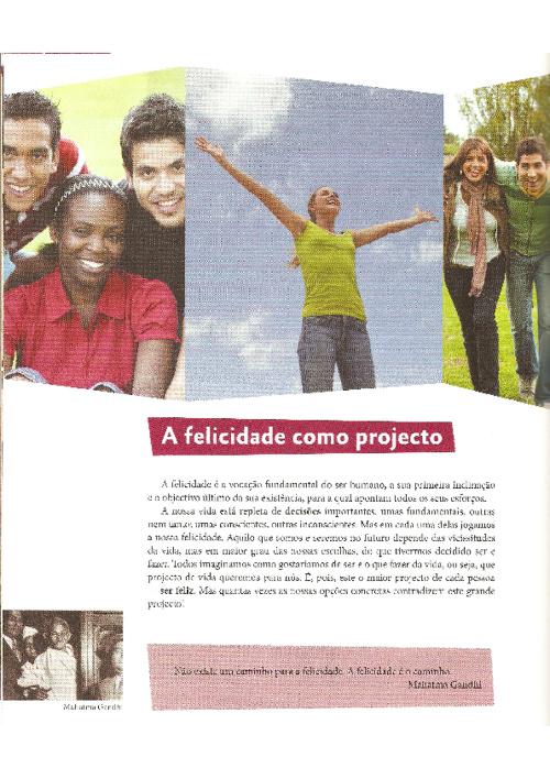 A felicidade como projeto