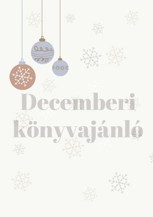 Decemberi könyvajánló