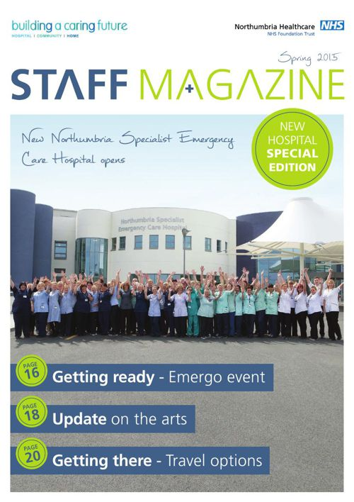 Staff Magazine Spring 2015
