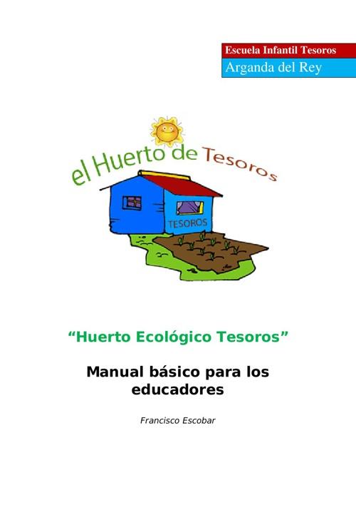 EL Manual del Huerto editado por la EscuelaTesoros