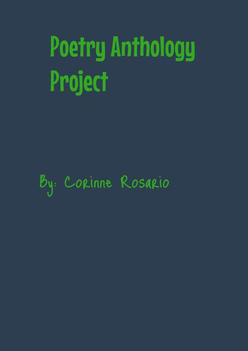Corinne's Poetry Anthology