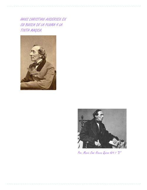 Cuento de Hans Christian Andersen