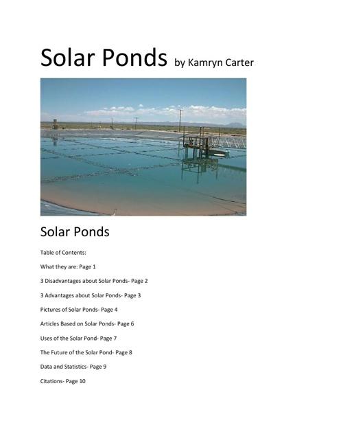 Alternative Energy Flipbook