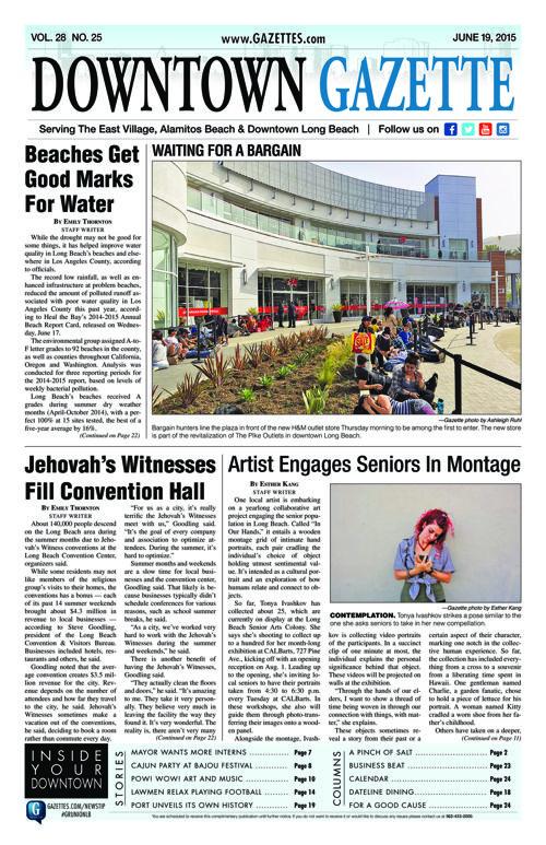 Downtown Gazette  |  June 19, 2015