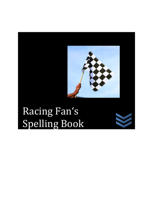 Racing Fan's Spelling Book