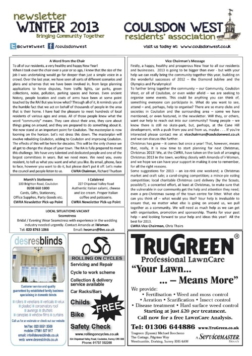 Past Newsletters