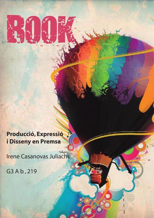Book Producció, Expressió i Disseny en Premsa Irene Casanovas