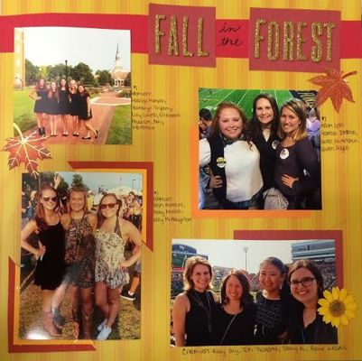 Fall 2015 Scrapbook