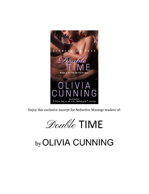 Excerpt:  Double Time by Olivia Cunning
